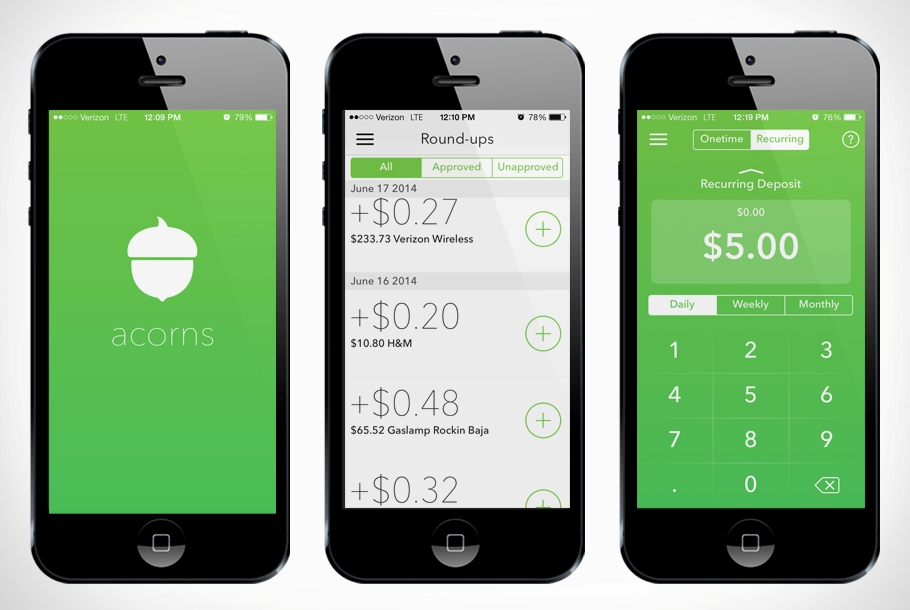 Acorns finance app