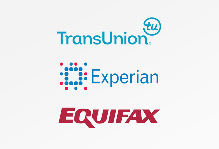 TransUnion, Experian, Equifax