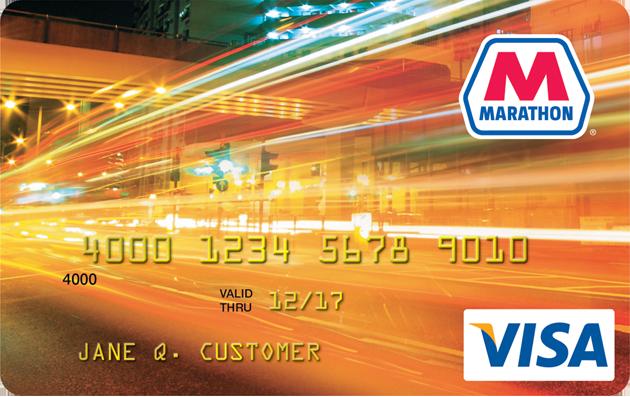 Marathon Visa credit card