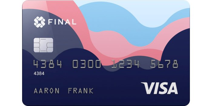 Final Visa credit card