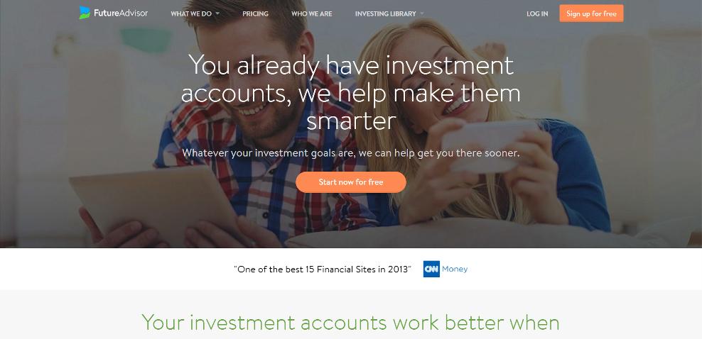 FutureAdvisor's Website