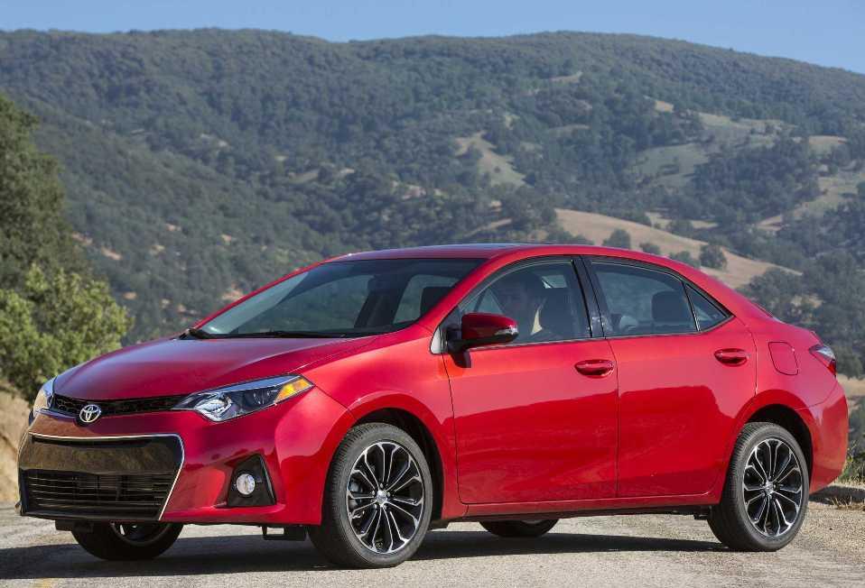 brand new Toyota Corolla