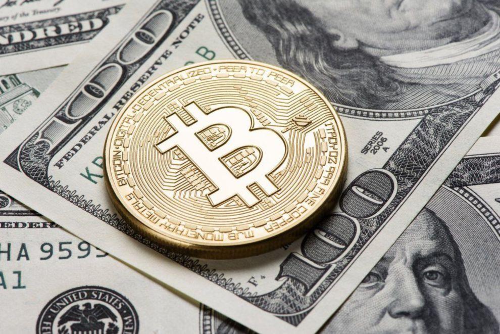 bitcoin on one hundred dollar bills