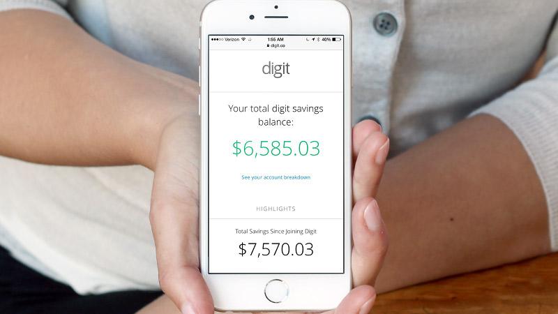 Digit finance app