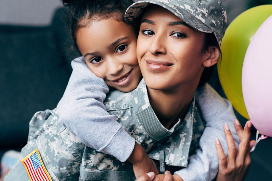 military mother